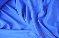 S6010 Silk Crepe De Chine, 114 cm, royal blue